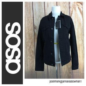 ⭐️ASOS Black Jacket Make Every Second Count sz XS